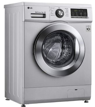 LG 7 kg Front Load Washing Machine (FH2G6HDNL42) Reviews & Features