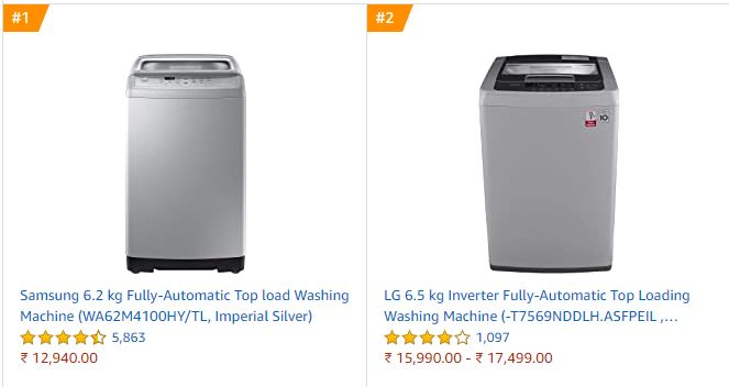 best-top-load-washing-machines-india-best-selling