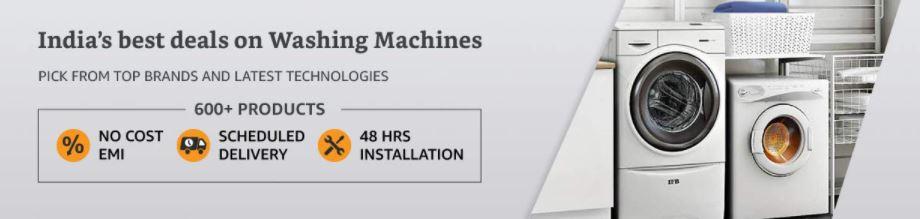 washing machine exchange offers